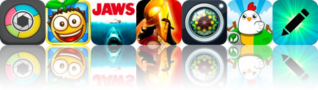 Photo Stats, Bouncy Seed!, Jaws HD, And More -- AppAdvice