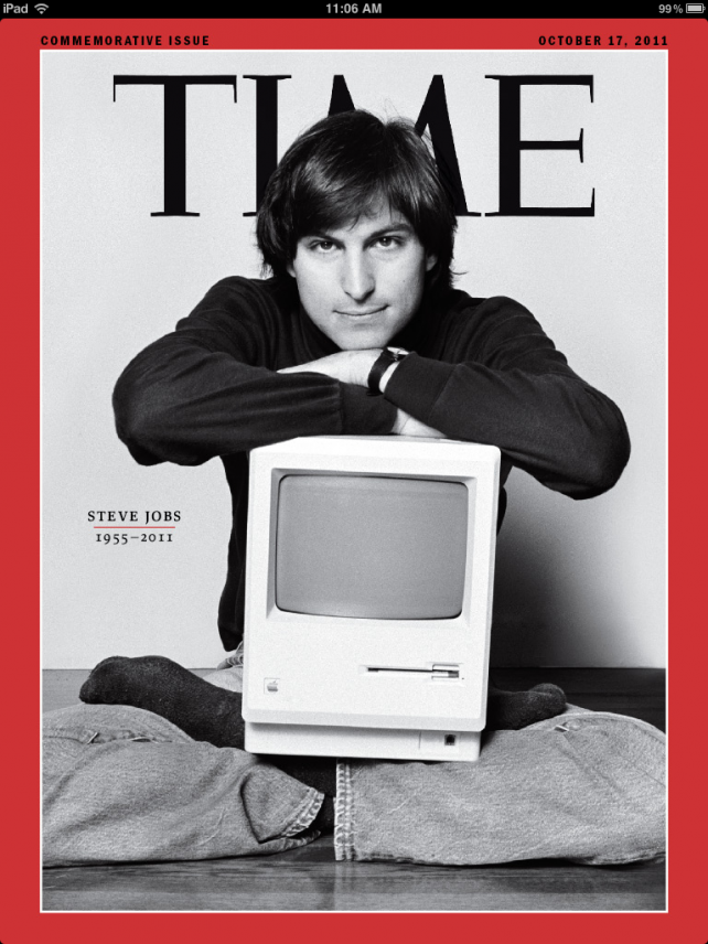 TIME's Steve Jobs Issue Arrives - And It Is Amazing -