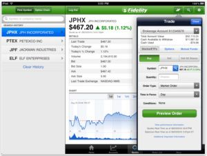 Fidelity Investments Best iPad App