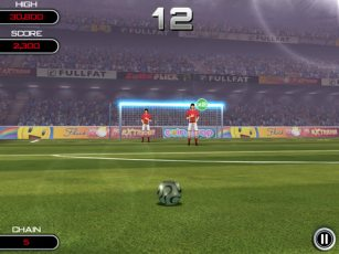 Flick Soccer! HD iPad Game