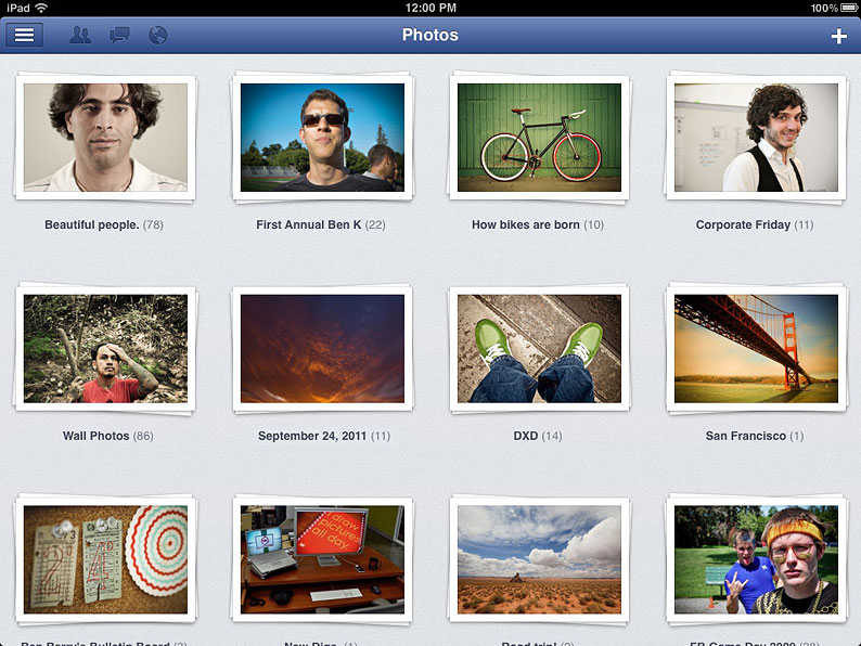 Mysterious Facebook iPad App now on the App Store | iPad Apps