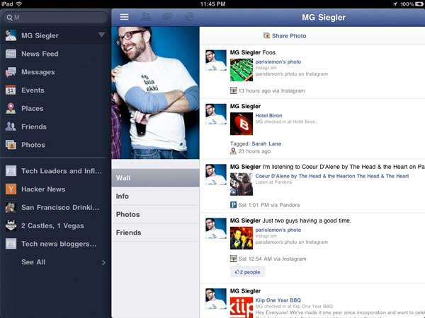 Facebook for iPad Finally Arrives