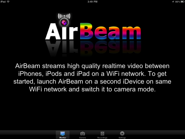 AirBeam Updated - Adds Audio Streaming, Audio Detection, Torch Control And More -