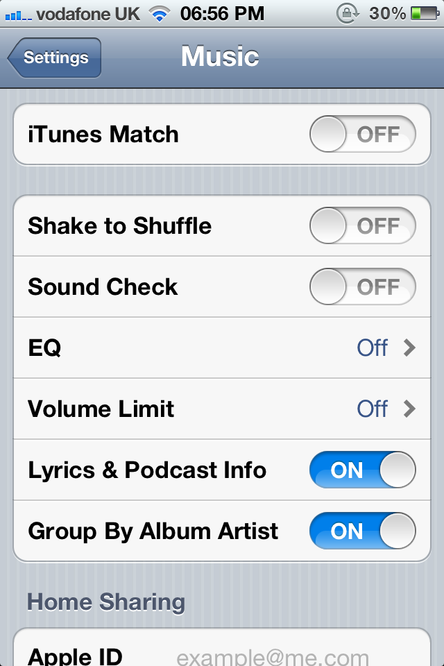 iTunes Match Setting Appears In iOS 5 - Launch Imminent? -