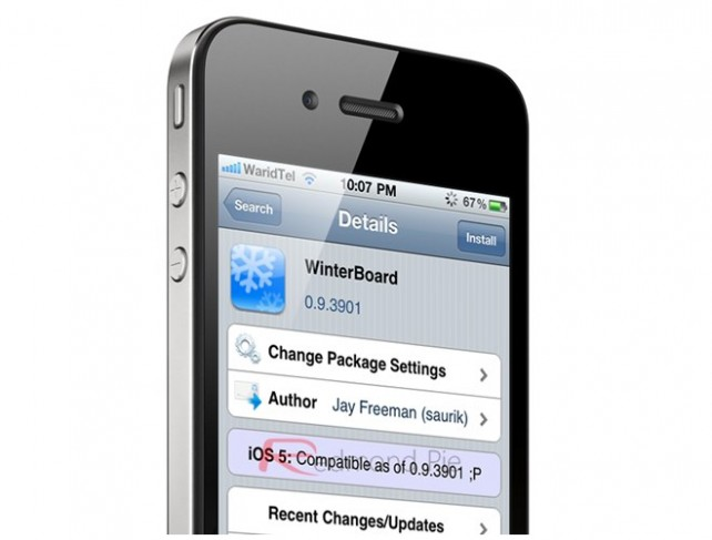WinterBoard Is Now Fully Compatible With iOS 5 -- AppAdvice