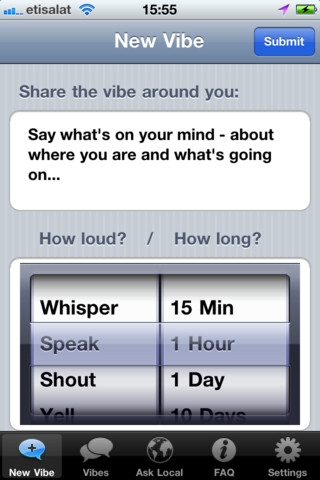 Vibe Enables You To Anonymously Share Your Thoughts