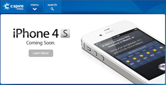 iPhone 4S Coming to U.S. Regional Carrier C Spire Wireless