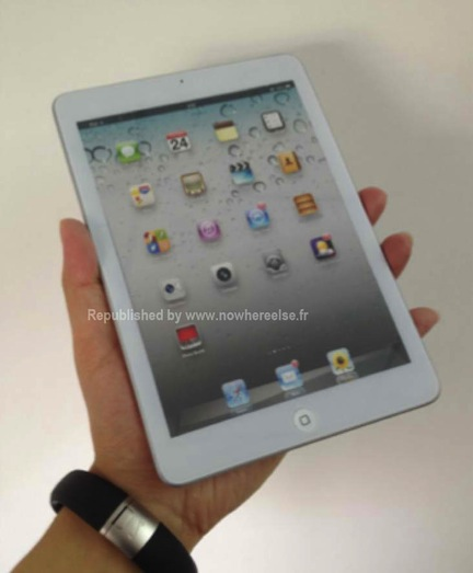 Mockup model of the iPad Mini shows how the next iPad is going to look like