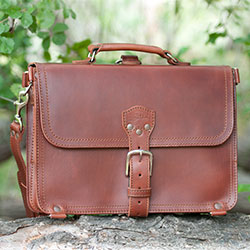 Saddleback's Thin Briefcase for iPad is a classic!