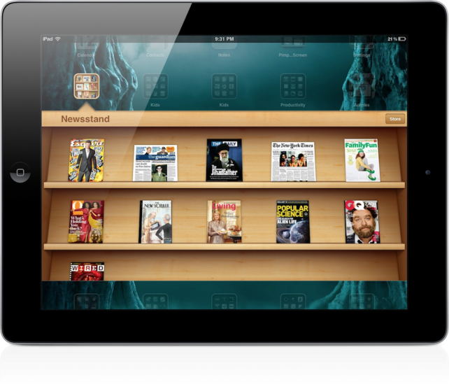 Sick Of Looking At Newsstand? Put It In A Folder With StifleStand